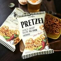 Samjin Pretzel Spicy Beef Makanan Kering