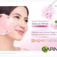 Garner Garnier Sakura White Whitening Serum Cream SPF/PA 18ml