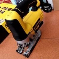 jigsaw premium stanley mesin gergaji kayu listrik stel 345