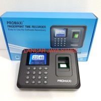 mesin absen finger print promaxi px-110