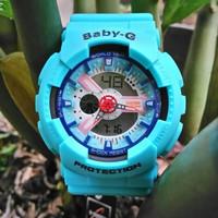 CASIO BABY-G BGA-110 PUTIH ROSE GOLD