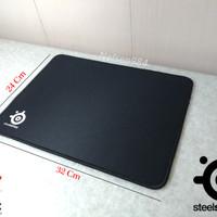 Mousepad Gaming SteelSeries QCK Jahit Pinggir (32x24Cm)