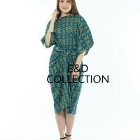 kaftan ikat batik/dress/maxi dress