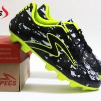 sepatu bola specs baricada ultima hitam hijau premium terbaru
