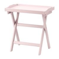 IKEA MARYD Meja baki serbaguna- bisa dilipat & baki dpt dilepas- pink