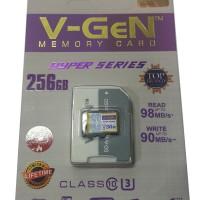 harga Microsd V-gen Hyper 256gb Class 10 98mb/s + Adapter (memory Hp Vgen) Tokopedia.com