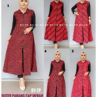 Jual outer/vest baru/outer murah/outer batik/vest batik Murah