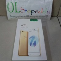 Hp Oppo A71 Gold New Android Nougat Garansi Resmi (RAM 2GB+ROM 16GB)
