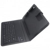 Bluetooth Keyboard with Leather Case for iPad Mini / Mini 2 Retina Bla