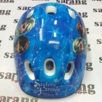 EXCLUSIVE Helm Untuk Anak Saat Main Sepetu Roda Sepeda Ada Motifnya