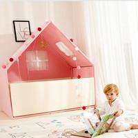 Foldaway Play House Pink