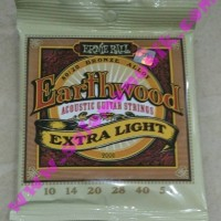 terbaik senar gitar akustik ernie ball earthwood extralight