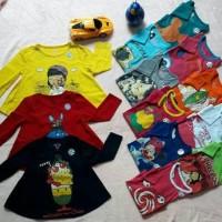 Tunik Anak Kaos Anak Kaos Perempuan Karakter Anak Baju Branded  Murah