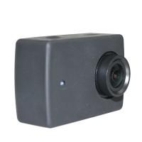 Kualitas Terbaik Action Camera Silicone Case + Lens Cover for Xiaomi