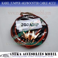 Kabel Jumper Aki Booster Cable Accu 200 Ampere cover mobil terlaris
