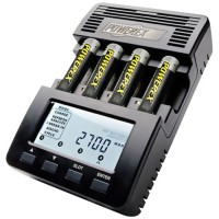 Maha Powerex MH-C9000 WizardOne Charger-Analyzer for 4 AA/AAA with LCD