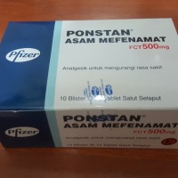 Best Obat Alat Kesehatan Ponstan 1Box SNI BPOM