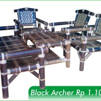 Kursi Tamu - Black Archer . Raztech furniture