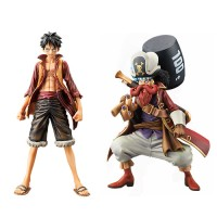 OP DXF The Grandline Men One Piece Movie Z Luffy & Usopp (1 Set)