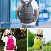 Foldable Backpack / tas Travel / Tas Punggung Lipat / Ransel Traveling