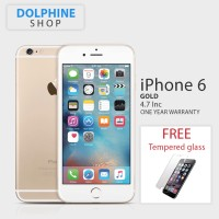 APPLE IPHONE 6 GOLD 64GB GSM GARANSI 1 TAHUN