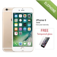 APPLE IPHONE 6 GOLD 64GB - GSM GARANSI DISTRIBUTOR 1 TAHUN
