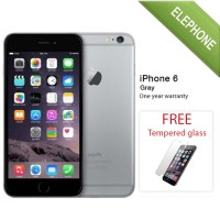 APPLE IPHONE 6 GRAY 64GB - GSM GARANSI DISTRIBUTOR 1 TAHUN