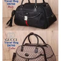 Travel Bag Gucci D6760 - Tas Travel - Koper Fashion Murah