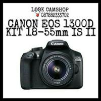 KAMERA DSLR CANON EOS 1300D 1300 D KIT 18-55mm IS II - WIFI