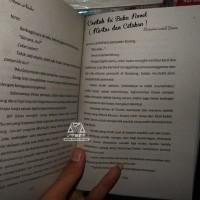 Contoh Isi Buku Novel