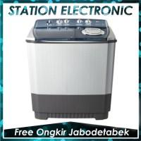 LG WP-1460R Mesin Cuci Top Loading [14 Kg/2 Tabung/Putih]