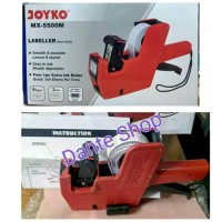 Alat Lebel Harga 1 baris 8 digit ( Price Lebeller Joyko MX-5500 )