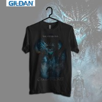Gildan Custom Graphic Tshirt / Kaos  Game of Thrones Season 7 poster