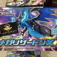 Pokemon Collection Series Mega Lizardon X Plastic Model
