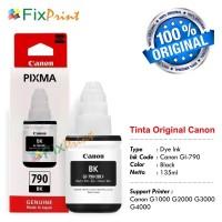 Tinta Printer Canon GI-790 G1000 G20000 G3000 Original BLACK