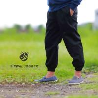Celana Sirwal Jogger Hitam - Jogger Pants - Celana Panjang Pria