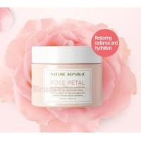 NATURE REPUBLIC Real Fresh Rose Petal Moisture Mask - 100ml