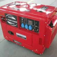 Genset silent 10 kva 1 phase fortuner full power 34amp ( bensin )