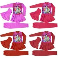 Baju Renang Anak Muslimah Karakter Tsum2 (SD)