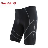 Santic Cycling Shorts 4D padded Reflective Celana Sepeda