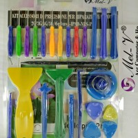 Obeng Set / Alat Service Hp / Opening Tools Set / Alat Service Set/026