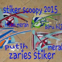 list body stiker Scoopy fi sporty 2016 2016