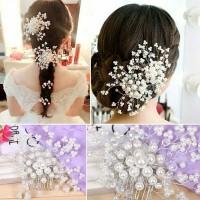 Sirkam pearl headpiece hiasan sanggul hairpiece aksesoris rambut sale thumbnail