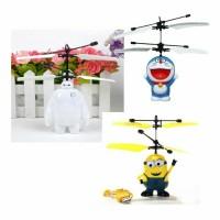 permainan flying helycopter toy mainan anak2 terbang minions