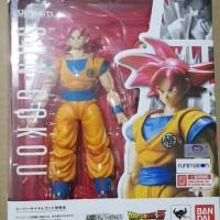 Shf Son Goku Misb Super saiyan god renewal