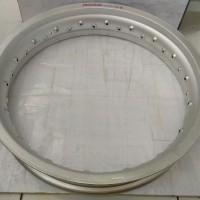 Harga 1 pcs velg rossi 300 17 silver kulit | HARGALOKA.COM