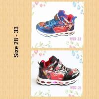 harga Sepatu Kets Anak Cars Ada Lampu Size 28-33 / Sepatu Led Tokopedia.com