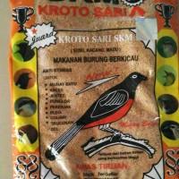 Makanan burung berkicau Untuk : Muray batu, Kacer,jentet,punglor,pere