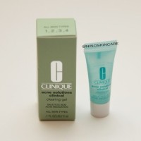CLINIQUE ACNE SOLUTIONS CLINICAL CLEARING GEL TRIAL SIZE
