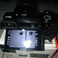 kamera mirrorless sony a6000 lensa kit 18-50mm bukan canon nikon dslr